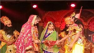 सुल्लामल रामलीला मंचन में राम बारात का आयोजन