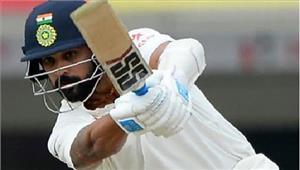 रांची टेस्ट भोजनकाल तक भारत ने 2विकेट खोकर193 रन बनाए