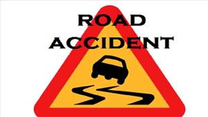 सड़क दुर्घटना में कईश्रद्धालु घायल