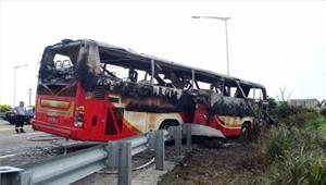 ताइवान में  सड़क दुर्घटना 32 लोगों की मौत