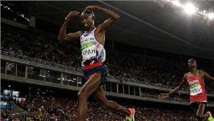 विश्व एथलेटिक्स  फराह बने हुए हैं 10 हजार मीटर के बादशाह