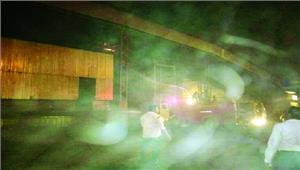 दीपका साइलो के सीएचपी में लगी भीषण आग