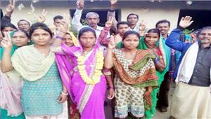 सास की जगह बहू को ग्रामीणों ने चुना सरपंच
