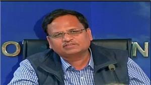 केंद्र ने cbiको दिल्ली सरकार के पीछे लगाया  सत्येंद्र जैन