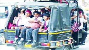स्कूली ऑटो रिक्शा पर कसेगा शिकंजा