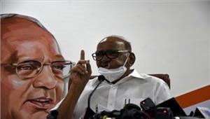 मोदी सरकार के खिलाफ है जनभावना  शरद पवार