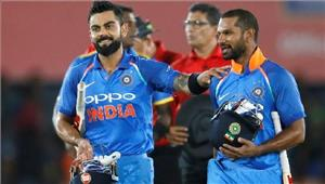 दाम्बुला वनडे धवन के तूफानी शतक से भारत ने पहला वनडे जीता