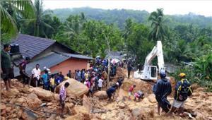 श्रीलंका बाढ़ और भूस्खलन से मरने वालों की संख्याबढ़कर हुई164