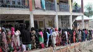 श्रीनगरलोकसभा उपचुनाव में38 मतदान केंद्रों पर पुनर्मतदान जारी