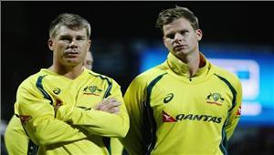 चोट के कारण टी-20 सीरीज से बाहर हुए स्मिथ वार्नर करेंगे कप्तानी