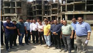बिल्डर-बायर्स ने आम्रपाली की परियोजनाओं का किया निरीक्षण