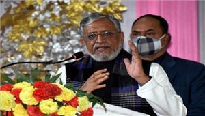 बिहार में मध्यावधि चुनाव के पक्ष में नहीं हैभाजपा  सुशील मोदी