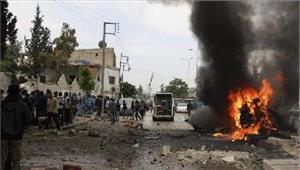 सीरियाआत्मघाती विस्फोट में 7 लोगों की मौत