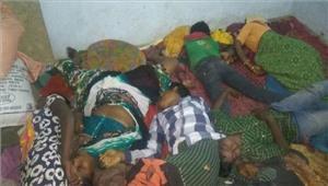 तेलंगाना एक ही परिवार के सात सदस्य मिले मृत अवस्था में