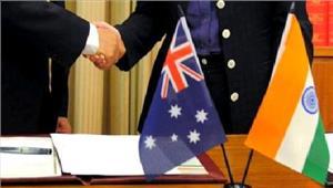 आतंकवादरोकथाम परभारत ऑस्ट्रेलिया के बीचचर्चा