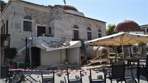 तुर्की बोडरम में भूकंप के झटके