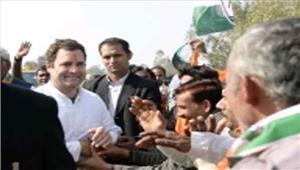 उप्र  अमेठी में राहुल के सामने भाजपा व कांग्रेस कार्यकर्ताओं में झड़प