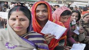यूपी चुनावशुरुआती 6 घंटों में 38 फीसदी मतदान