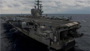 अमेरिकी नौसेना का विमान दुर्घटनाग्रस्त