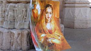 उदयपुर में पद्मावती की 9 फुट लंबी मूर्ति लगेगी