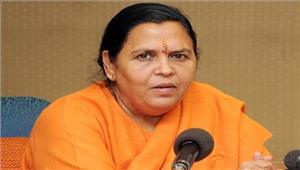 उमा भारती ने कोलकाता के गंगा घाटों का निरीक्षण किया