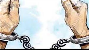 मेरठमुठभेड़ में 1बदमाश गिरफ्तार
