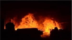 देवर-भाभी परपेट्रोल डालकर लगाई आग