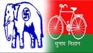 सपा औरबसपा नेताओं के खिलाफ पुलिस ने गुंडा एक्ट की कार्रवाई की