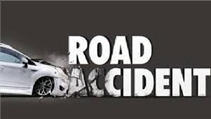 यूपीसड़क दुर्घटना में 3लोगों की मौत 3घायल