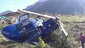 उत्तराखंडबद्रीनाथ में हेलीकॉप्टर दुर्घटनाग्रस्त इंजीनियर की मौत