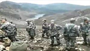 उत्तराखंड में चीनी सैनिकों नेलांघीसीमा