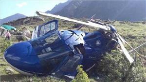 उत्तराखंडहेलीकॉप्टर दुर्घटनाग्रस्त 1 की मौत