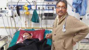 व्यापारी प्रकाश पांडे की मौत के बाद उत्तराखंड में प्रदर्शन
