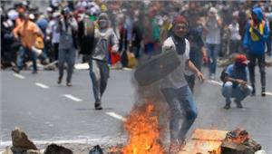 वेनेजुएला सरकार के खिलाफविरोध प्रदर्शनों में37की मौत