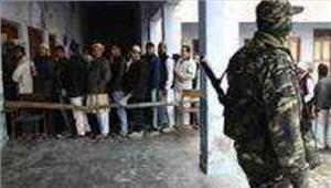 उत्तर प्रदेश  सुरक्षा के कड़े बन्दोबस्त के बीच मतदान शुरू