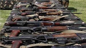 बंगालस्वतंत्रता दिवस से पहले हथियार जब्त