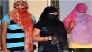 देह व्यापार मामले में तीन महिला गिरफ्तारभेजा जेल
