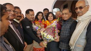 शारदा राठौर महिला कांग्रेस की राष्ट्रीय महासचिव बनी