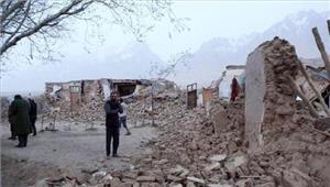 चीन  झिनजियांग प्रांत में भूकंप के झटके
