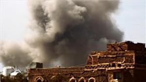 यमन में सरकार और विद्रोहियों के बीच हवाई हमले जारी