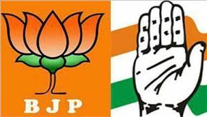 मणिपुर चुनावों के चलतेकांग्रेस और बीजेपी नेझोंकी पूरी ताकत