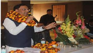 आरक्षण के नाम पर भाजपा सरकार को बदनाम करने की साजिश गोयल