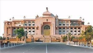 राजस्थानविधानसभा में मेडिकल कॉलेज खोलने की मांग को लेकरहंगामा