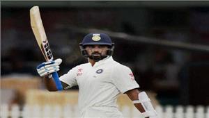 धर्मशाला टेस्ट  भोजनकाल तक भारत के 1 विकेट पर 64 रन