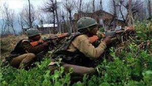 कश्मीरमुठभेड़ में 1 आतंकवादी ढेर 1 पुलिस कांस्टेबल घायल