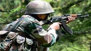 आतंकवादियों और सुरक्षा बलों के बीचगोलीबारी में 1पुलिसकर्मी घायल
