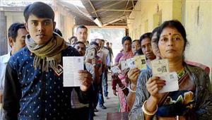 उप्र  अंतिम चरण के चुनाव में 40 सीटों पर कड़ी सुरक्षा के बीच मतदान जारी