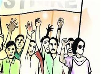दक्षिण कश्मीरपुलवामा के कुछ हिस्सों में हड़ताल
